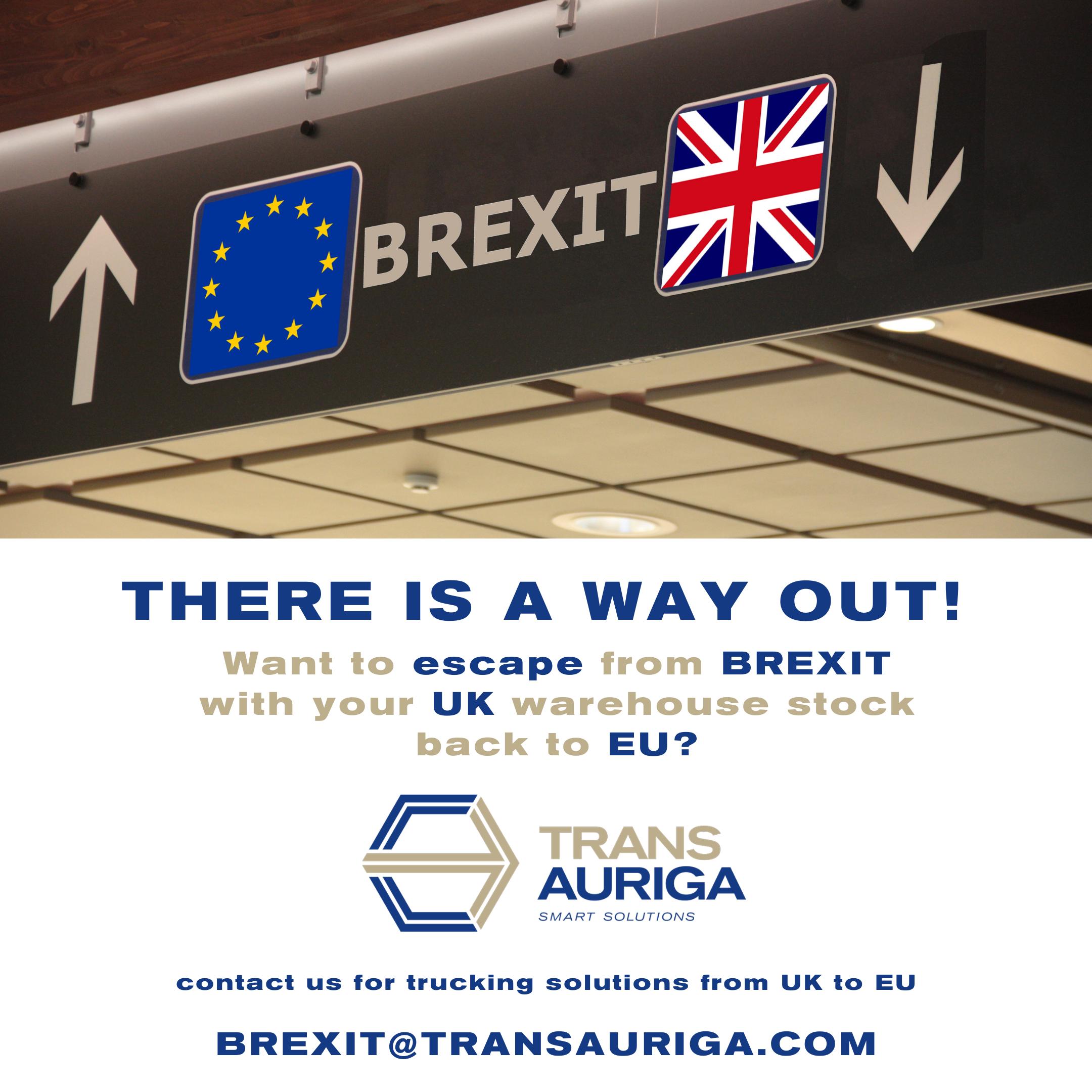 Großbritannien-Transporte noch vor dem Brexit